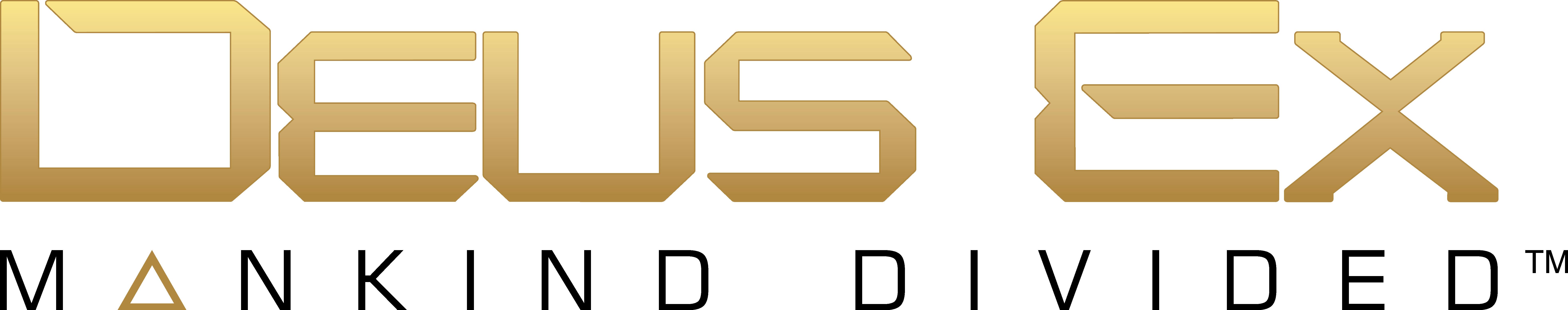 Deus Ex Manking Divided logo