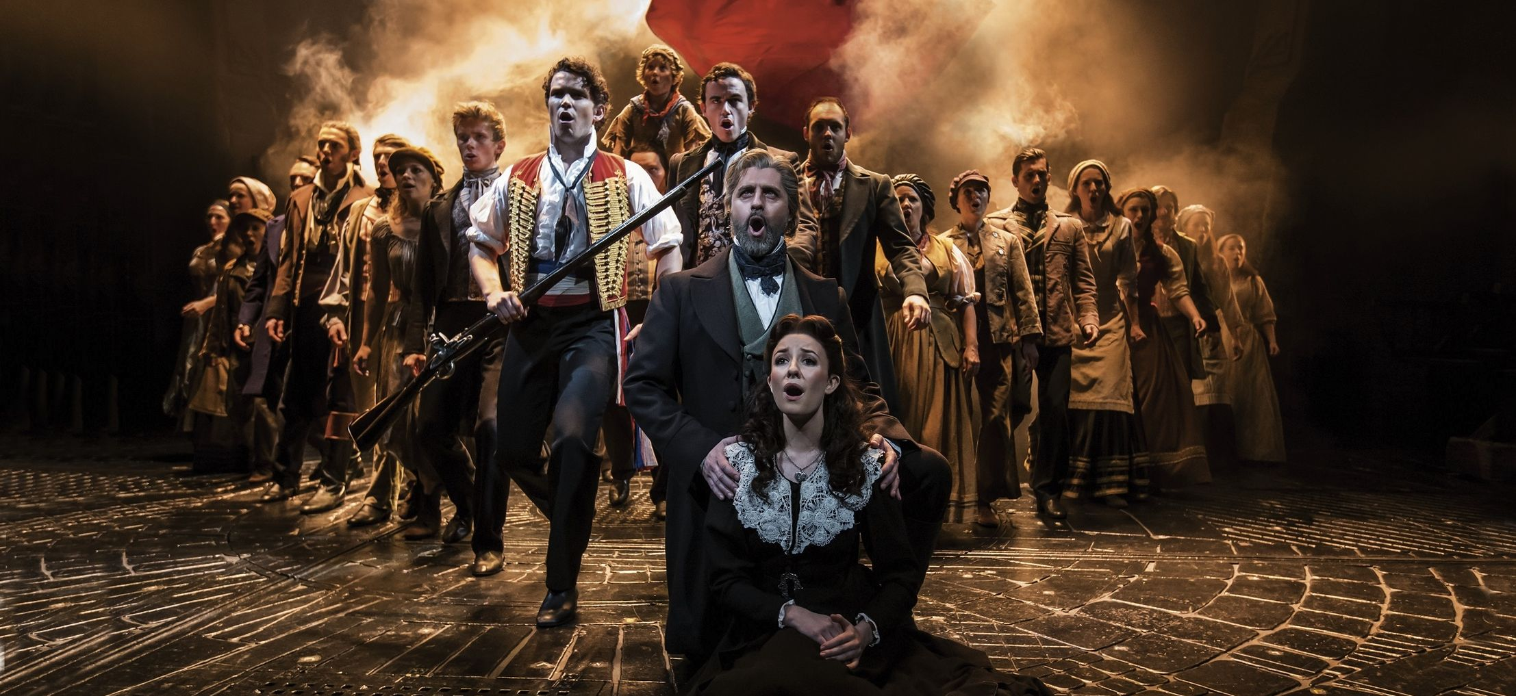 Les Miserables. One Day More c Johan Persson-crop