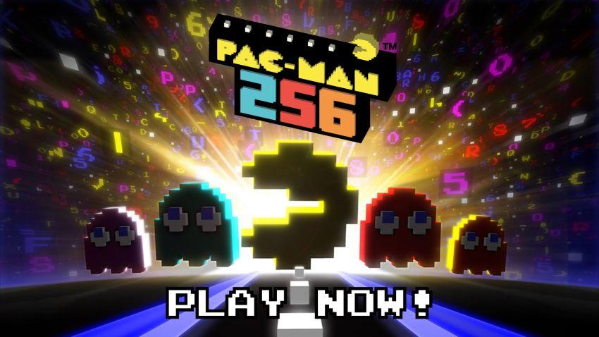 PAC-MAN 256 Banner
