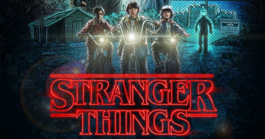 Stranger Things Banner