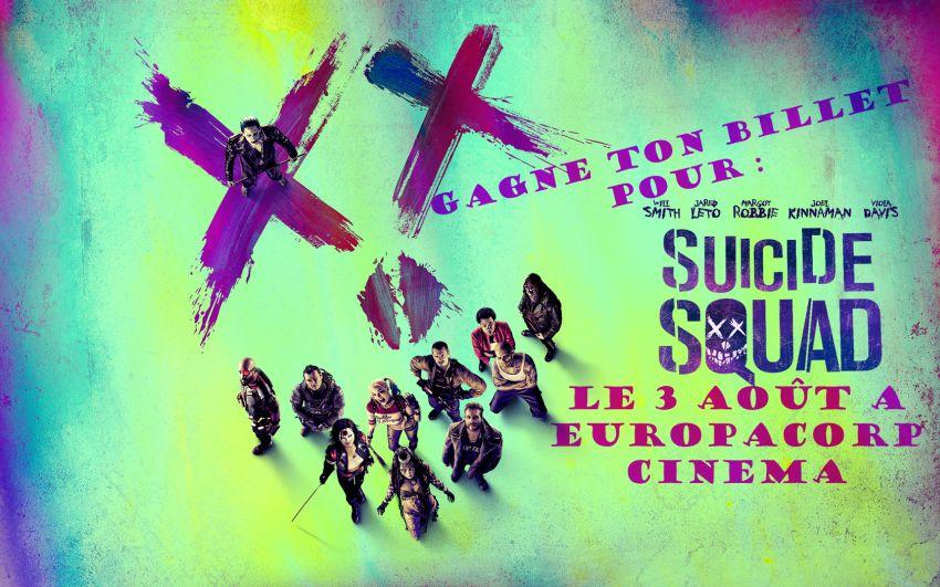 Suicide Squad Concours Banner