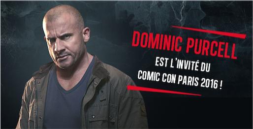 Dominic Purcell - Comic Con Paris