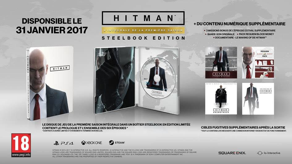 Day One, HITMAN: The Complete First Season